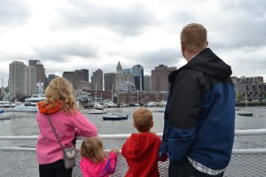 Cruising the Boston Harbor