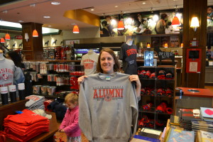 Visiting the bookstore of my alma mater, Boston University